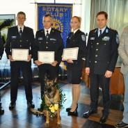 Tallinna Rotary klubi tunnustas parimaid noori politseinikke